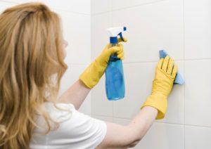 guide till att rengöra ångdusch